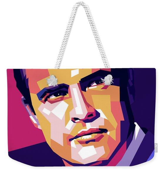 Marlon Brando Illustration Weekender Tote Bag