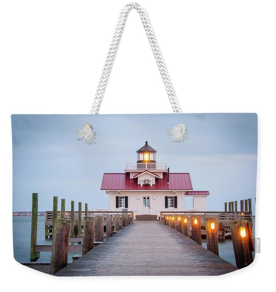 Marsh Light Weekender Tote Bag
