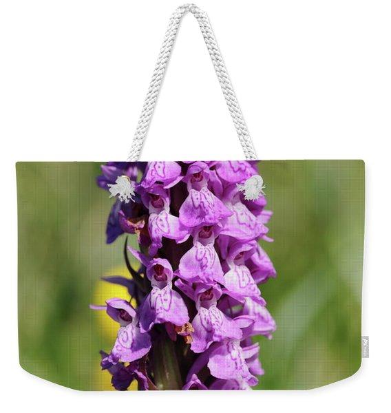 Marsh Orchid Weekender Tote Bag