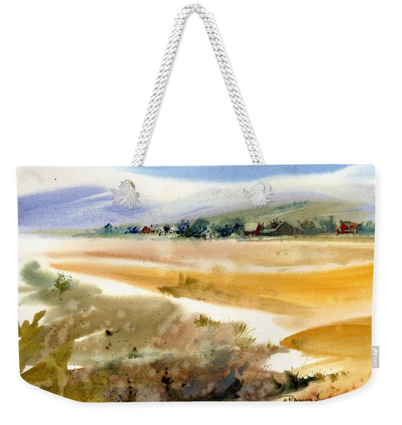 Marshy Shores Of Cape Cod Weekender Tote Bag