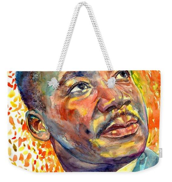 Martin Luther King Jr Portrait Weekender Tote Bag