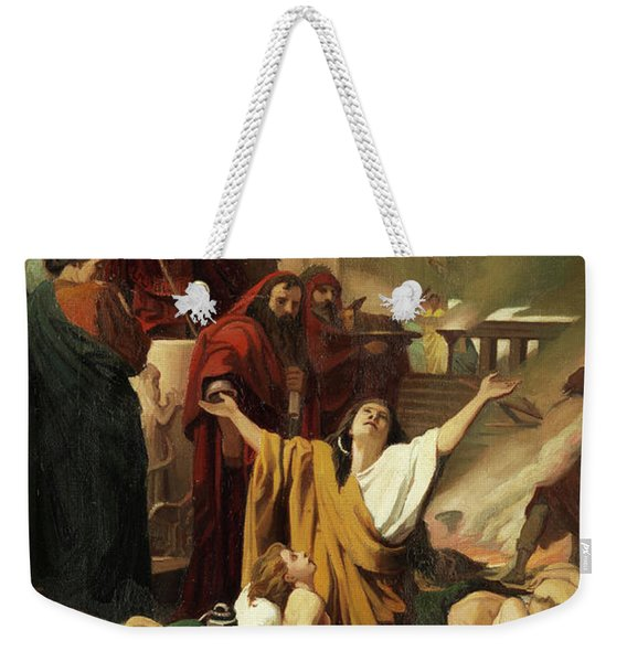 Martyrdom Of The Seven Maccabees Weekender Tote Bag
