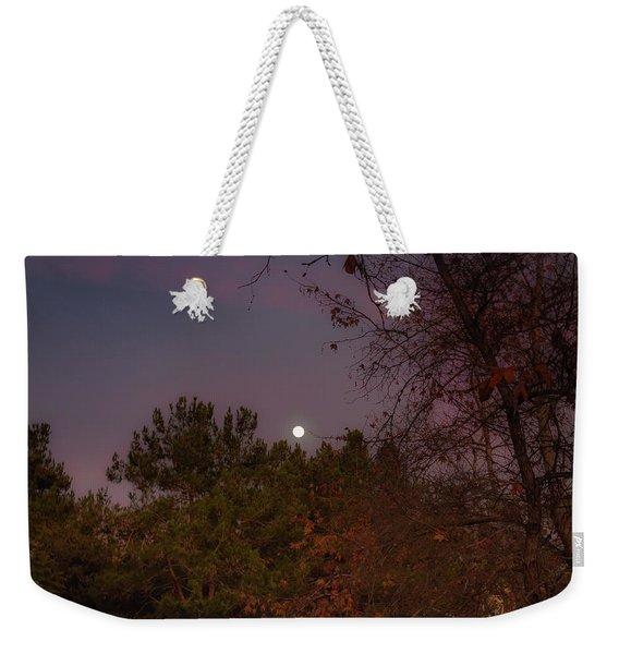 Marvelous Moonrise Weekender Tote Bag