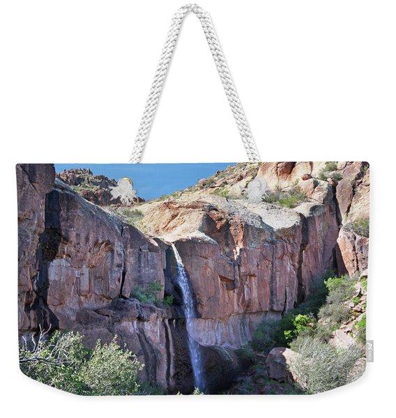 Massacre Trail Waterfall Weekender Tote Bag