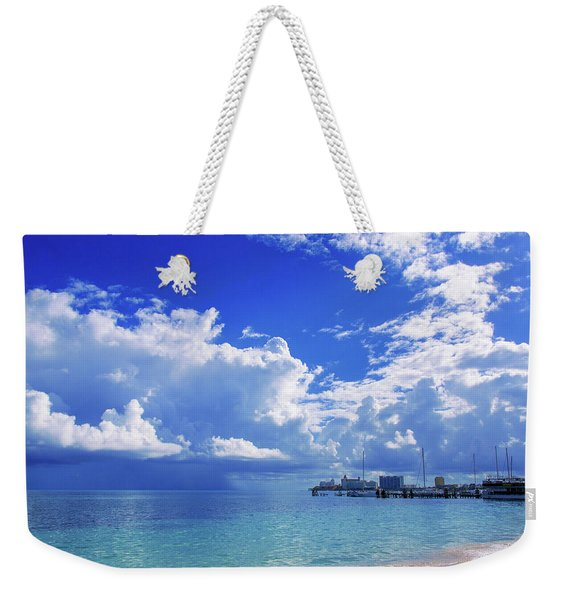 Massive Caribbean Clouds Weekender Tote Bag