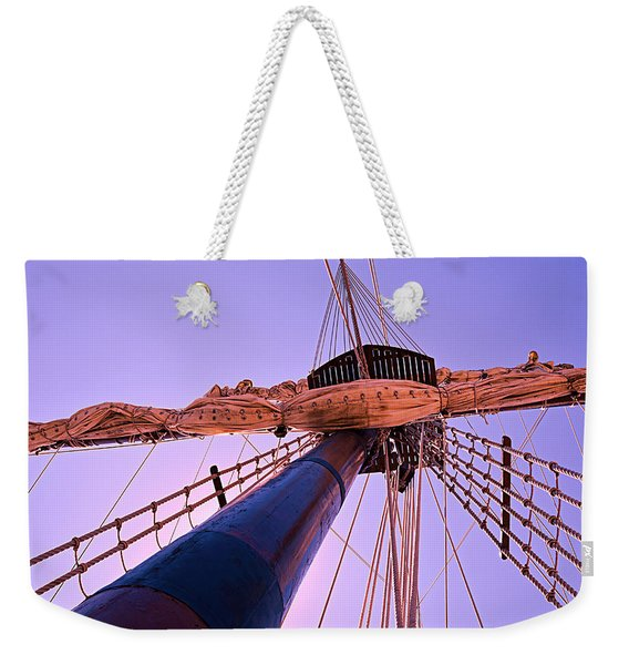 Mast And Sails Weekender Tote Bag