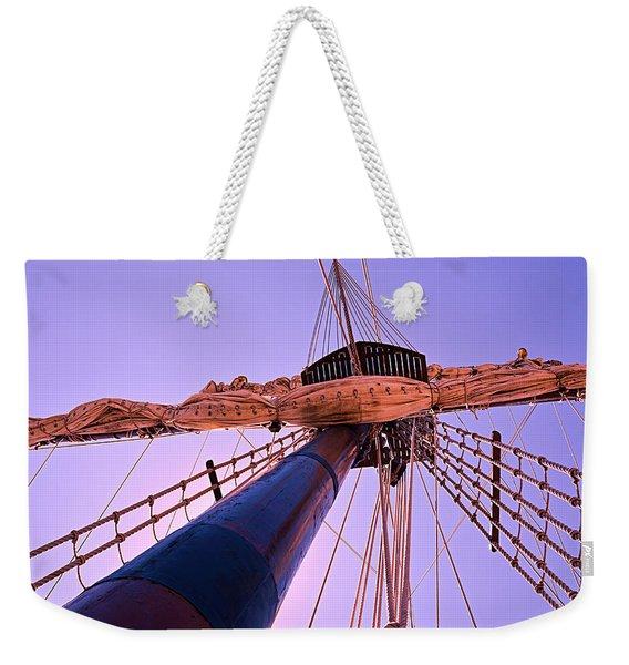 Mast And Sails Weekender Tote Bag