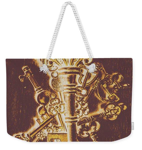 Master Key Weekender Tote Bag