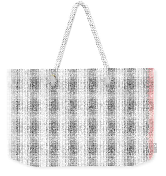 Mathematical Constants In Pi Weekender Tote Bag