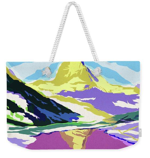 Matterhorn Snow Melt Weekender Tote Bag
