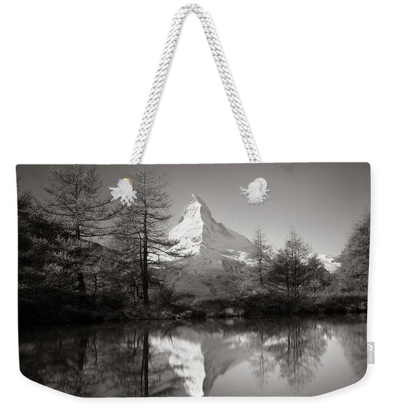 Matterhorn Study 4, Switzerland, 2014 Weekender Tote Bag