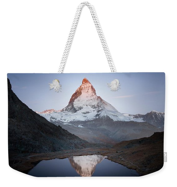 Matterhorn Study, Switzerland, 2014 Weekender Tote Bag
