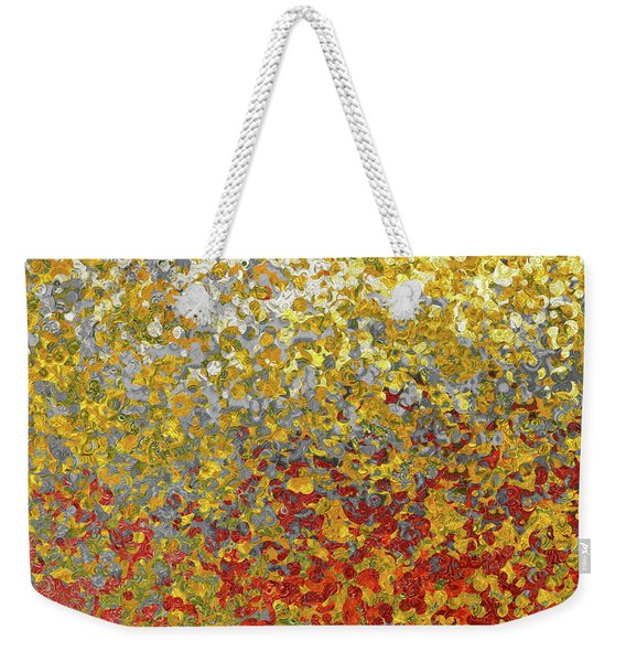 Matthew 3 15. Fulfill All Righteousness Weekender Tote Bag