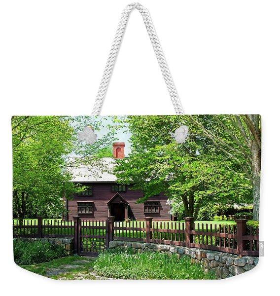 Matthew Whipple House Weekender Tote Bag
