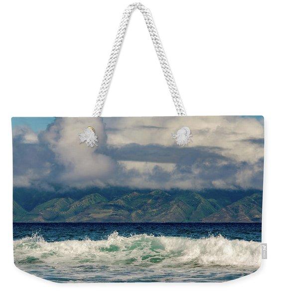 Maui Breakers II Weekender Tote Bag