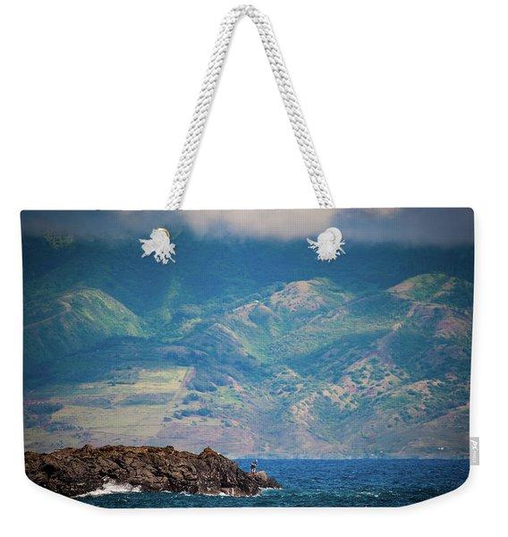 Maui Fisherman Weekender Tote Bag
