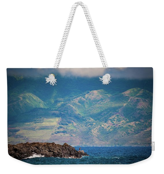 Maui Fisherman Weekender Tote Bag