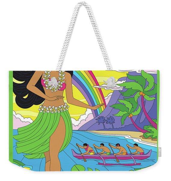Maui Poster - Pop Art - Travel Weekender Tote Bag