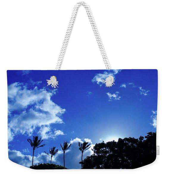 Maui Sky Weekender Tote Bag