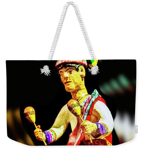 Mayan Dancer Weekender Tote Bag