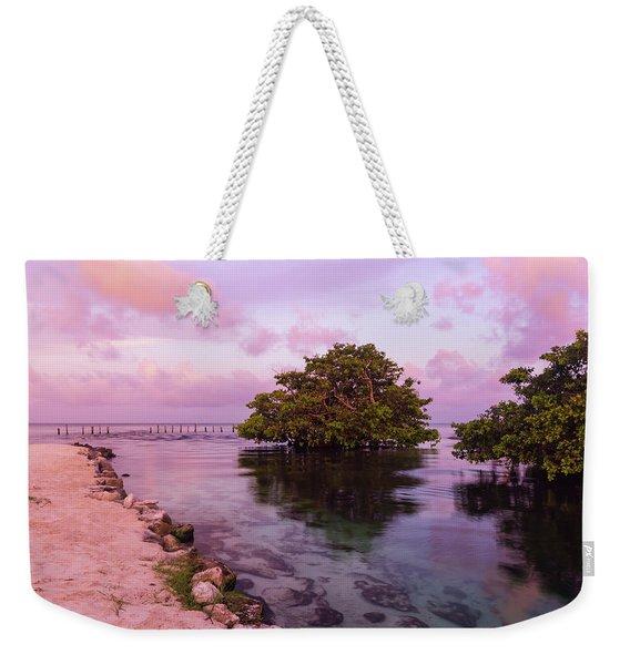 Mayan Sea Reflection Weekender Tote Bag