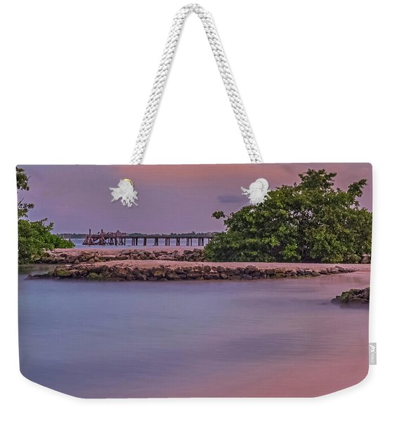 Mayan Shore Weekender Tote Bag