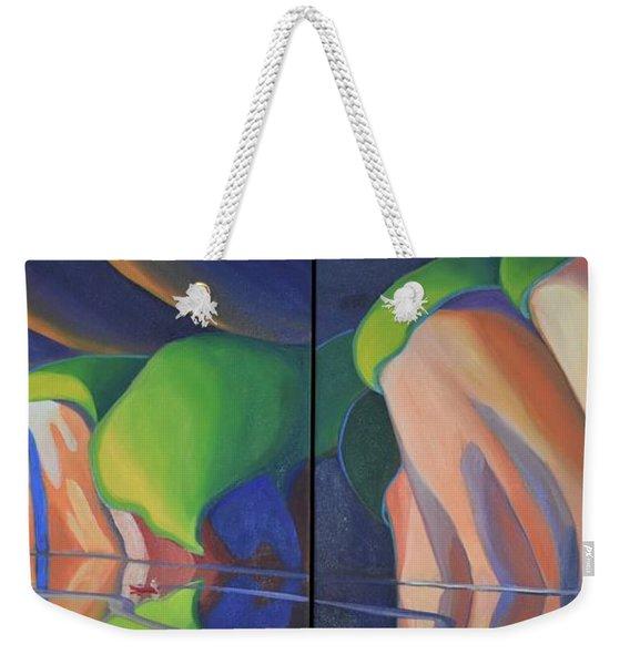 Mazinaw Rock Weekender Tote Bag
