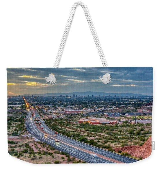 Mcdowell Road Weekender Tote Bag