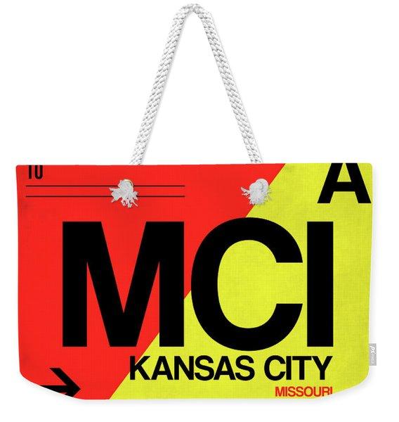 Mci Kansas City Luggage Tag I Weekender Tote Bag