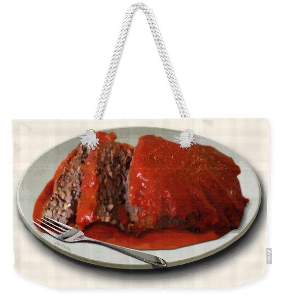 Meatloaf Weekender Tote Bag