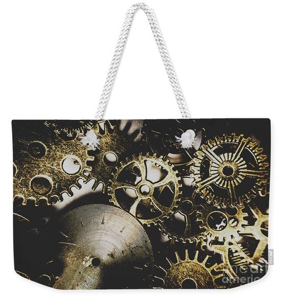 Mechanical Age Weekender Tote Bag
