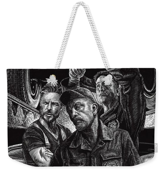 Mechanics Weekender Tote Bag