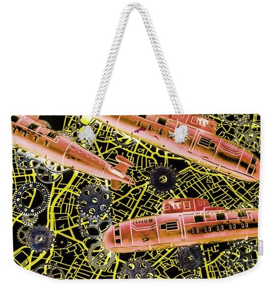Mechanised Waters  Weekender Tote Bag