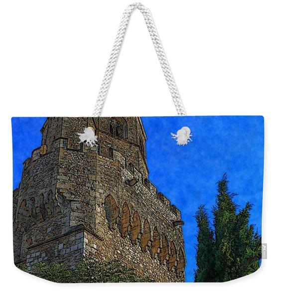 Medieval Bell Tower 5 Weekender Tote Bag