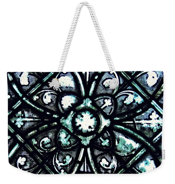 Medieval Stained Glass Abstract 5 Weekender Tote Bag