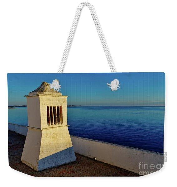 Mediterranean Chimney II. Portugal Weekender Tote Bag