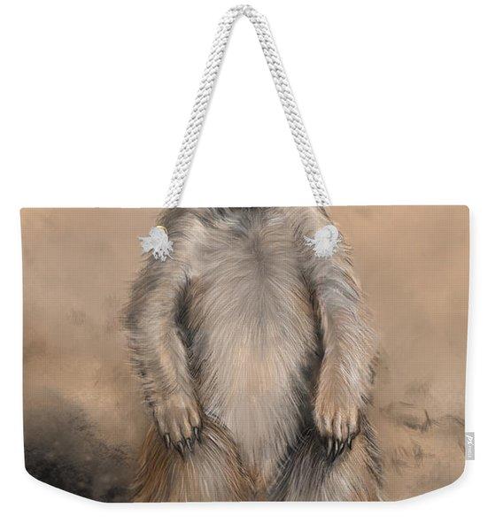 Meercat Weekender Tote Bag