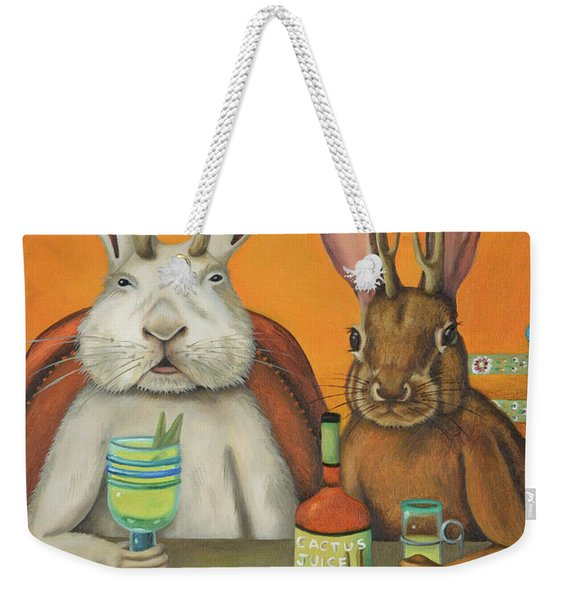 Meet The Jackalopes Weekender Tote Bag