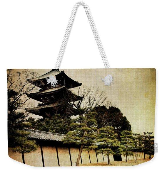 Memories Of Japan 4 Weekender Tote Bag