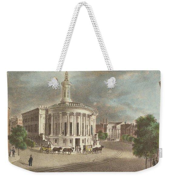 Merchants Exchange, 1838 Weekender Tote Bag