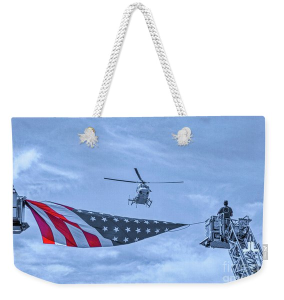Mercy Flight Of Western New York Weekender Tote Bag