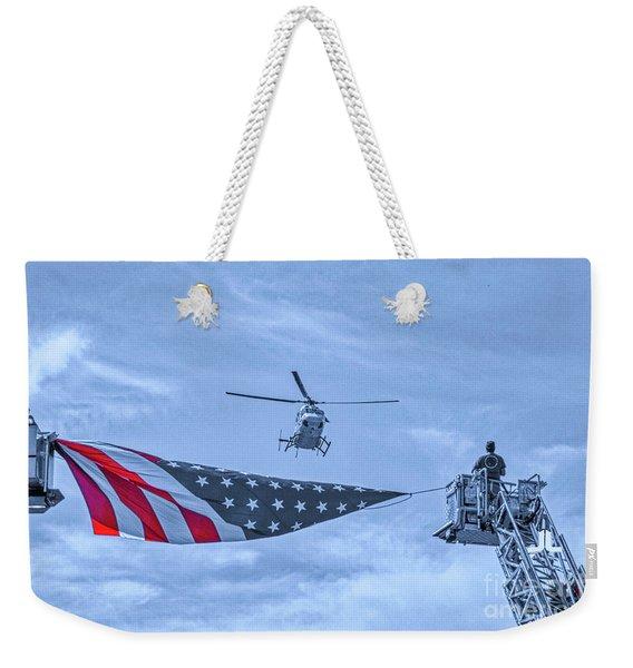 Mercy Flight Of Western New York Weekender Tote Bag