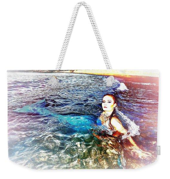 Mermaid Shores Weekender Tote Bag