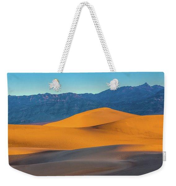 Mesquite Flats Sunsrise Weekender Tote Bag