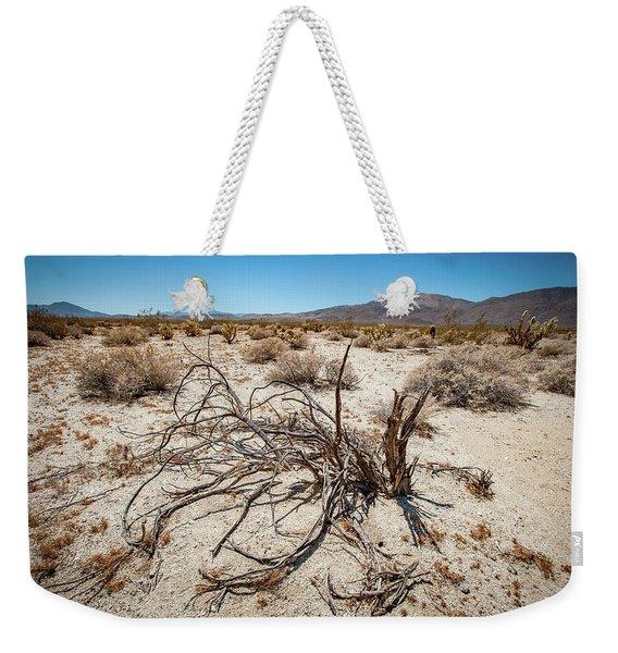 Mesquite In The Desert Sun Weekender Tote Bag