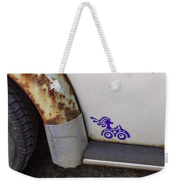 Metal Moth Weekender Tote Bag