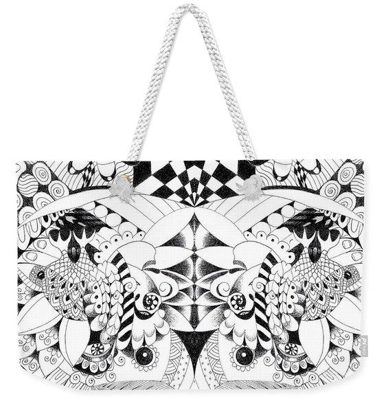 Metamorphosis Arrangement 3 Weekender Tote Bag
