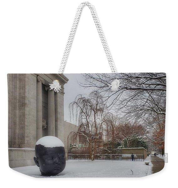 Mfa Boston Winter Landscape Weekender Tote Bag