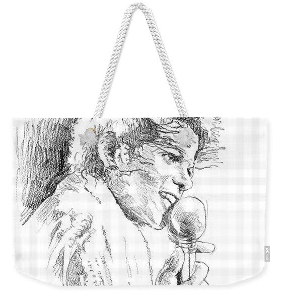 Michael Jackson Song Weekender Tote Bag