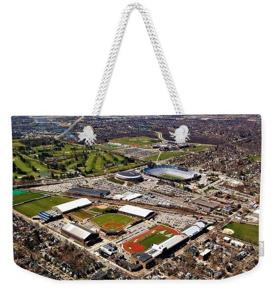 Michigan Stadium Weekender Tote Bag